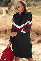 Платье в спортивном стиле Gepur 32258