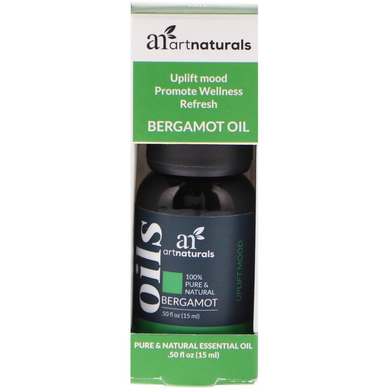 Artnaturals, Bergamot Oil, .50 fl oz (15 ml)