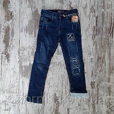 Оптом Модные Теплые Детские Джинсы 3-7 лет