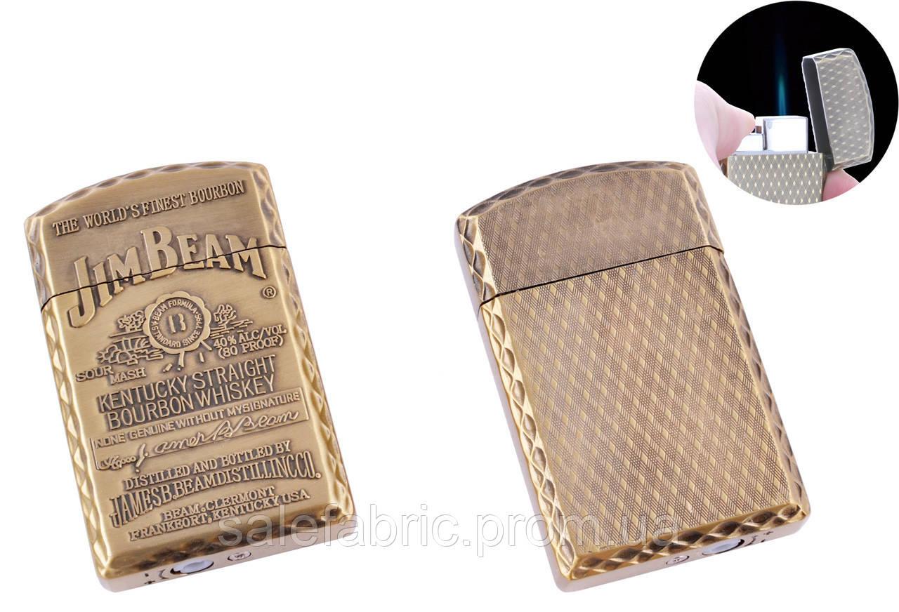 Зажигалка карманная Jim Beam (Острое пламя) №4899-2