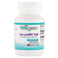 Nutricology, CurcuWin 500, 30 Vegetarian Capsules