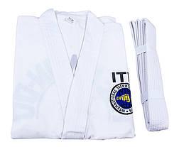 Кимоно тхеквондо ITF, 110-190 см, фото 2