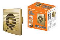 Вентилятор бытовой настенный 150 С-4, золото TDM