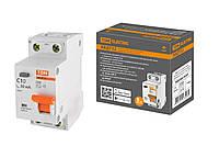 Автоматические выключатели дифференциального тока АВДТ 32 C10А 30мА 4,5кА TDM