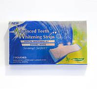 🔝 Отбеливающие полоски для зубов, Ultra Gel Whitening strips, система отбеливания зубов дома, 7 пар , Відбілювачі для зубів