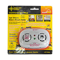 Отпугиватель мышей и комаров, AR 166B, ультразвуковой отпугиватель, ультразвук от комаров, Отпугиватели и