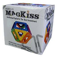 Детский магнитный конструктор, развивающий, с большими деталями, MagKiss, 20 pcs, Конструкторы и гоночные треки