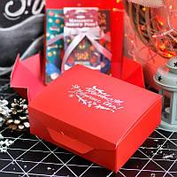 Новогодний набор  150 г (Сувенирный шоколад и Чай)