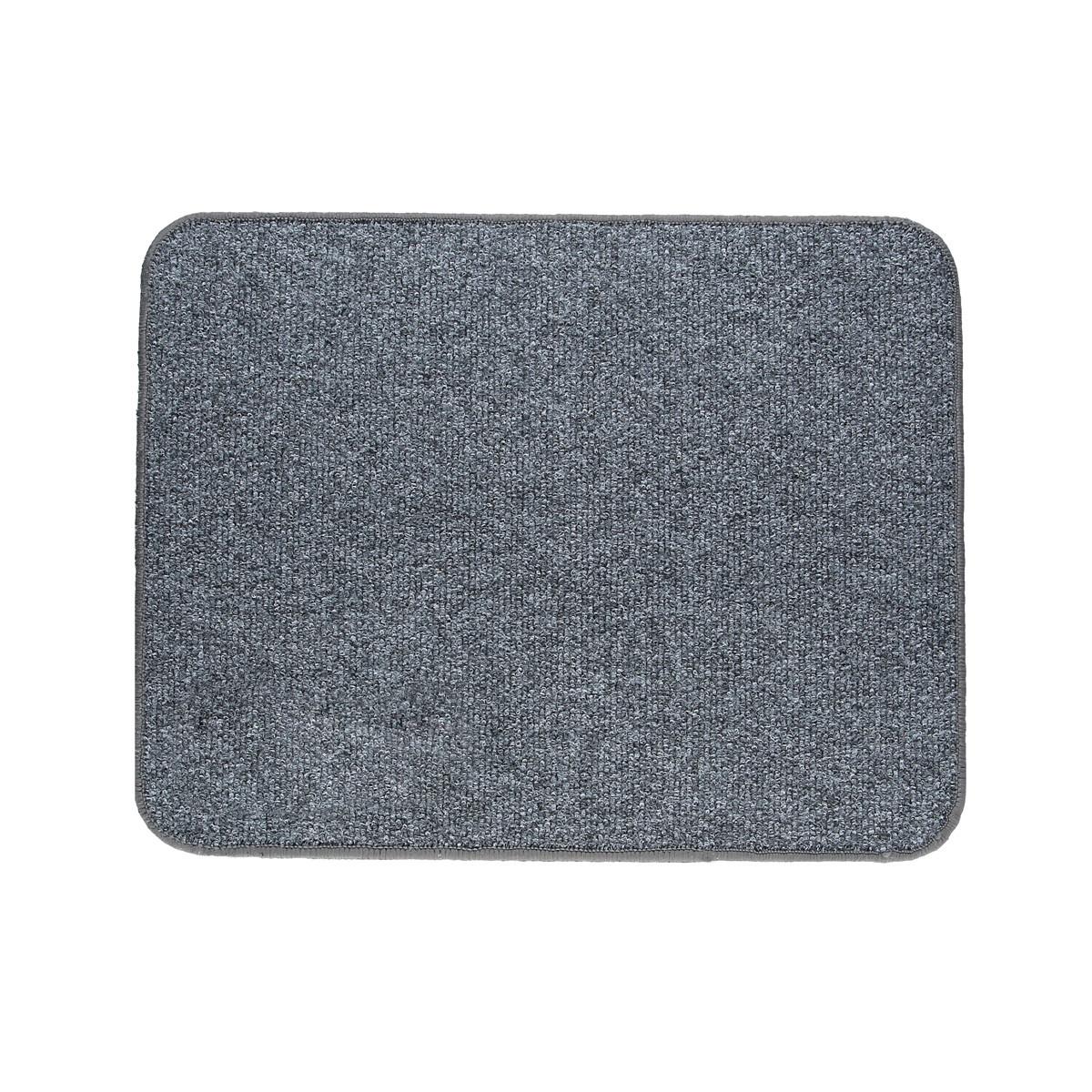 Электрический коврик с подогревом Теплик с термо и гидроизоляцией 50 х 40 см Темно-серый