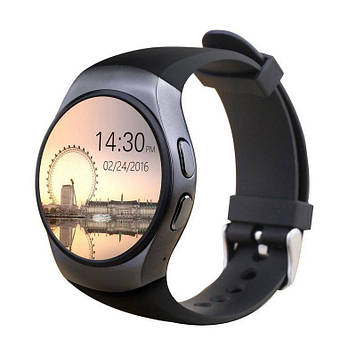 Розумні годинник Smart Watch KW18 Black (SWKW18BL)