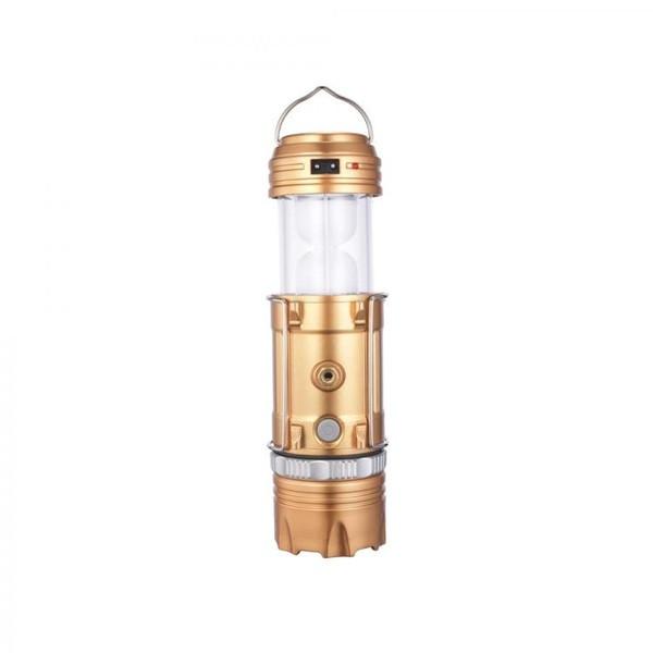 Кемпинговый фонарь Bailong GSH-9688 Золотой (9688)
