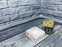 *50 шт* / Коробка для пряников / 80х80х35 мм / печать-Сердце кристальное / окно-обычн / лк, фото 1