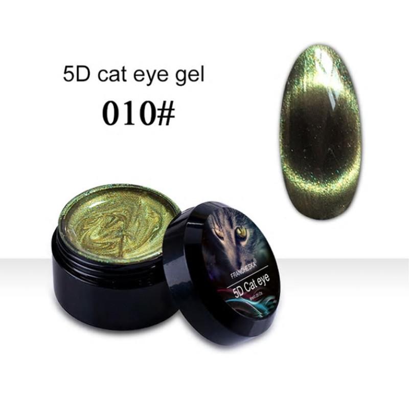 Гель-лак 5D Cat Eye Gel Francheska 10, 8 ml