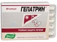 Гепатрин (Gepatrin) — Тройная защита печени 30капс.