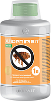 Хлорпиривит (хлорпирифос+циперметрин) 1л от насекомых