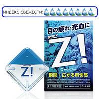Японские капли для глаз Rohto Z с цинком от сухости глаз, покраснений, зуда и усталости