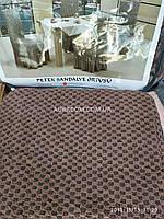 Чехлы на стулья с юбочкой, Altinkoza, цвет кофе, 6 штук, Kofe. Турция