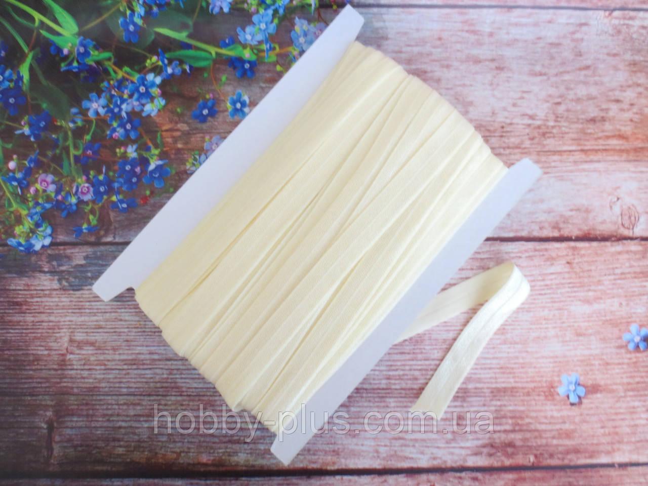 Бейка-резинка для повязок, цвет бежевый, 15 мм