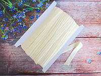 Бейка-резинка для повязок, цвет бежевый, 15 мм, фото 1