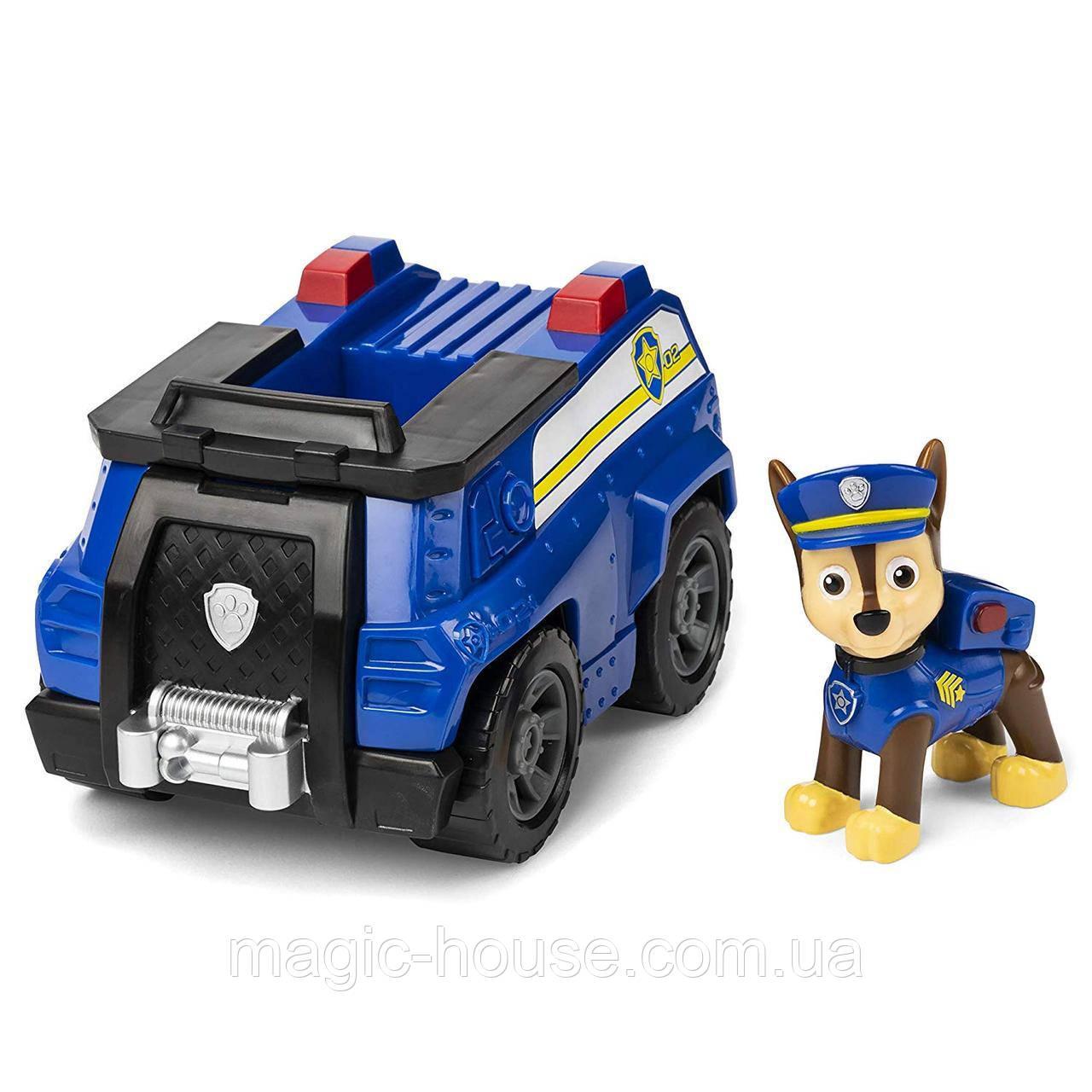 Paw PatrolЩенячий патруль Чейз гонщикна полицейской машине от spin master
