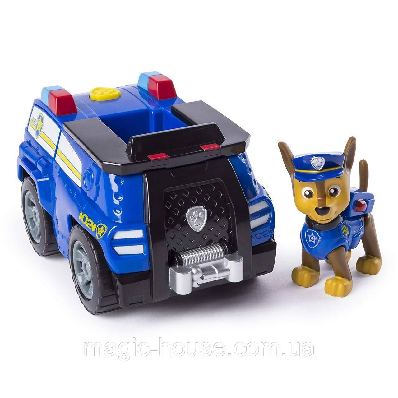 Paw Patrol Щенячий патруль Чейз гонщик на полицейской машине