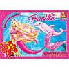 """BA015 Пазли ТМ """"G-Toys"""" із серії """"Barbie"""", 35 елементів"""