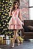 Платье женское, глубокое декольте, расклешенный низ 42, 44, 46, 48, фото 3