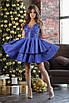 Платье женское, глубокое декольте, расклешенный низ 42, 44, 46, 48, фото 2