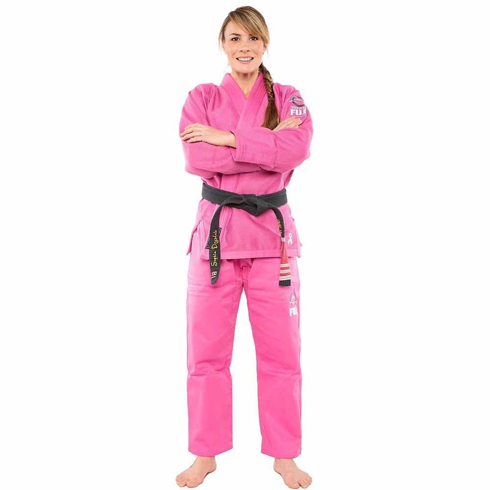 Жіноче кімоно для Джиу-Джитсу Fuji All Around Рожеве