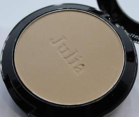 Компактна пудра для обличчя Julia Cosmetics №1