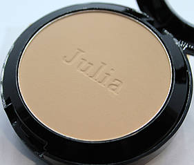 Компактна пудра для обличчя Julia Cosmetics №2