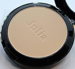 Компактна пудра для обличчя Julia Cosmetics №3