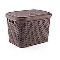 Корзина для хранения Hobbylife 08 1107-4 коричневый #O/Z