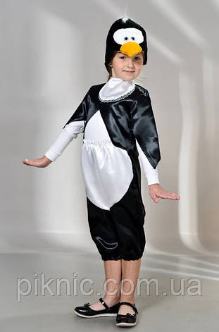 Костюм Пингвин 3,4,5,6,7,8 лет Детский новогодний карнавальный костюм на утренник для детей 342, фото 2