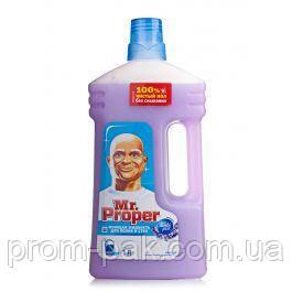Моющая жидкость для уборки полов и стен Mr. Proper 1000 мл лаванда, фото 2