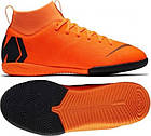 Детские футбольные кроссовки  Nike Superfly 6 Academy GS IC Оригинал  AH7343-810, фото 2