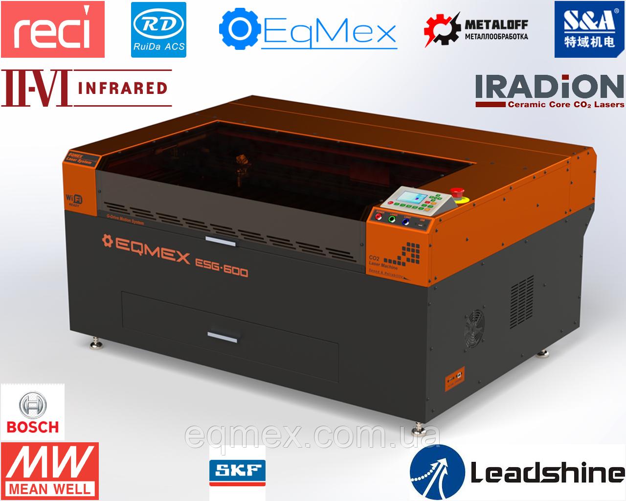 Cтанок для Лазерной Резки Фанеры Laser ESG-600 CeramiCore 60Вт (22995$)