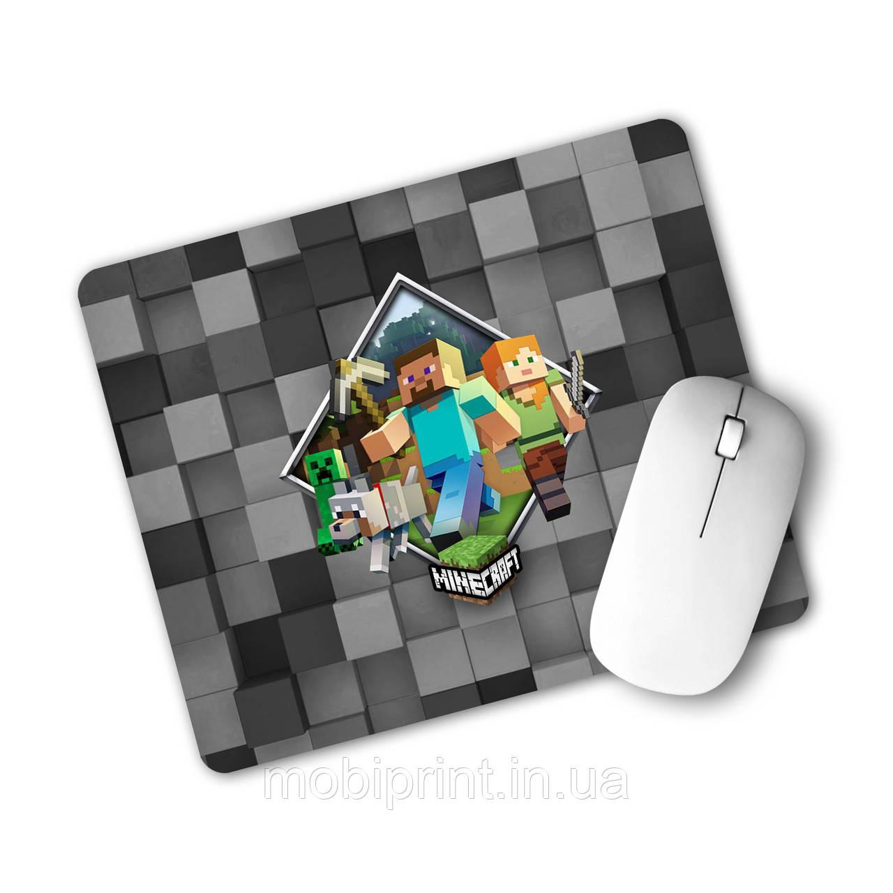 Коврик для мышки Майнкрафт (Minecraft)  (25108-1175)