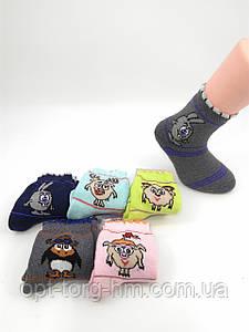 Махровые носки детские 12-14 (21-24 обувь)