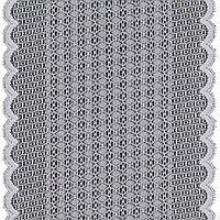 Кружево эластичное 1283 для нижнего белья,молочное 17 см пог.м.