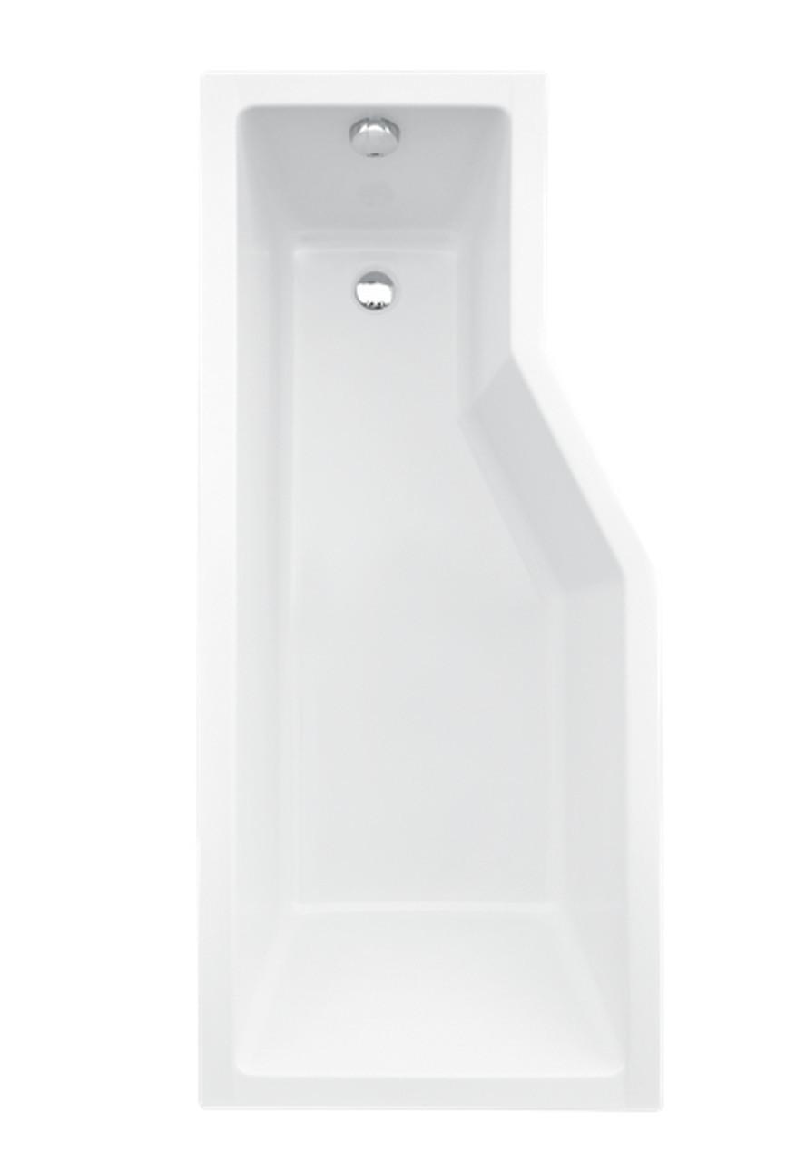 Ванна угловая акриловая Besco Integra 170х75 левая без ножек