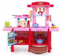 Детская кухня с холодильником и духовкой Doris Cook Set(розовая)