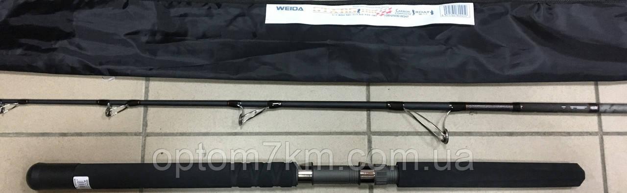 Спиннинг силовой бортовой Weida Stars 1.8 м 100-250g