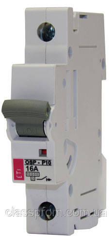 Ограничитель тока OSP-6 10A 3p (6kA), ETI, 2185031