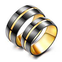 """Кольца для влюбленных """"Соло"""", жен. 15.7, 16.5, 17.3, 18, муж. 18, 19, 20, 20.7"""