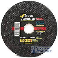 Круг отрезной по металлу NovoAbrasive Extreme 150 х 1,6 х 22,2, фото 1
