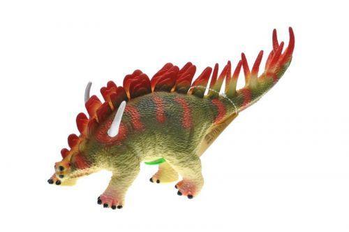 """Динозавр резиновый """"Стегозавр"""", со звуком SC072"""