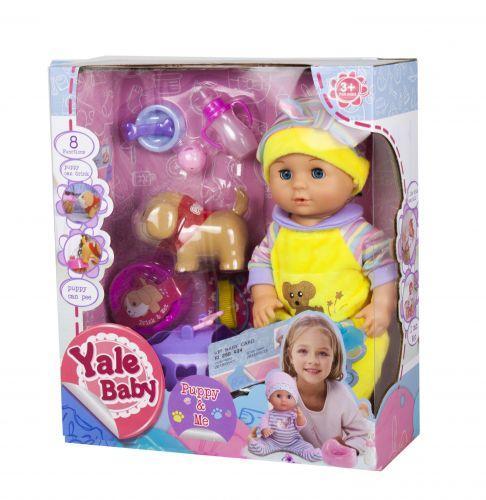 Пупс Yale baby интерактивный YL1862C р.желтый