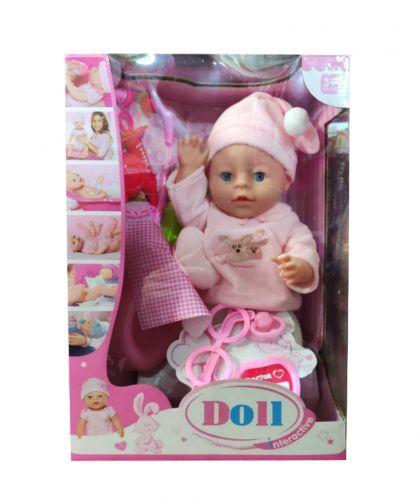 """Функциональный пупс """"Doll"""" с докторским набором (в шапочке с колпачком) 1737405_YL181"""