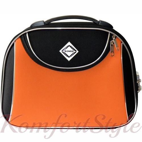 Кейс дорожный Bonro Style большой черно-оранжевый (10101606)
